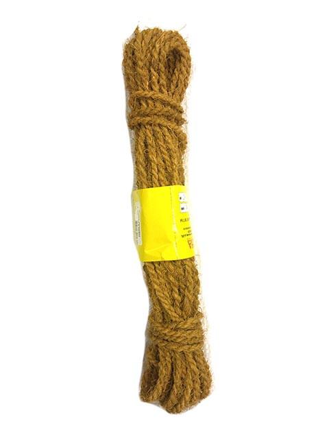 cce7cca7c9dd Веревка кокосовая, 6мм, 15м купить оптом и в розницу. Веревки, бечевки,  шнуры, канаты. Шпагаты.